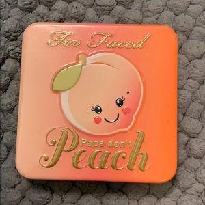 Too faced papa don't peach